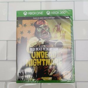 NWT RED DEAD REDEMPTION UNDEAD NIGHTMARE XBOX ONE